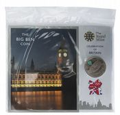 2012 £5 Coin Pack Celebration Of Britain Big Ben
